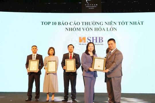 SHB được vinh danh trong top 10 doanh nghiệp vốn hóa lớn có báo cáo thường niên tốt nhất 2020