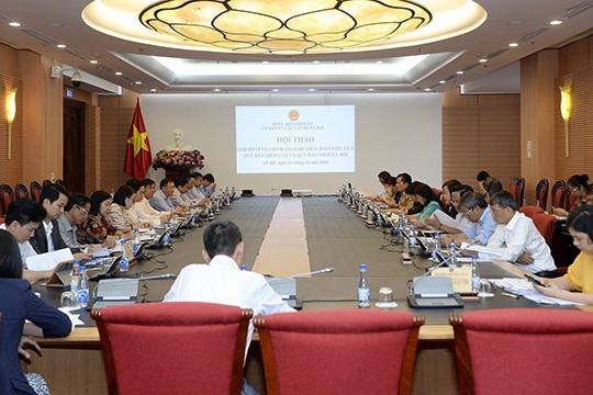 Chuẩn bị khai mạc hội nghị trực tuyến của Hiệp hội An sinh xã hội ASEAN lần thứ 37