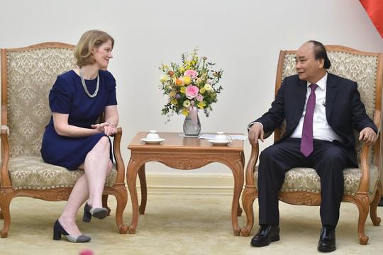 Thủ tướng tiếp khách quốc tế