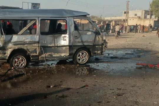 Nổ bom xe ở Syria, ít nhất 16 người thiệt mạng