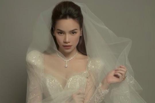 Hồ Ngọc Hà hé lộ ảnh mặc váy cưới lộng lẫy cùng với nhan sắc rạng rỡ