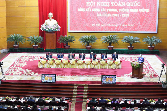 Khai mạc Hội nghị toàn quốc tổng kết công tác phòng, chống tham nhũng giai đoạn 2013-2020