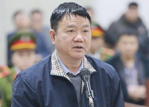 Ông Đinh La Thăng hầu tòa tại TP.Hồ Chí Minh
