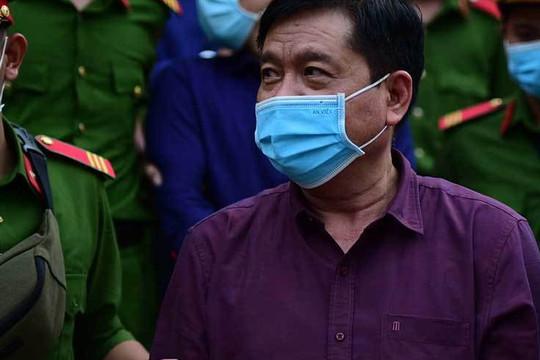 """Bị cáo Đinh La Thăng nói gì về 22 cuộc điện thoại """"đặc biệt"""" với Đinh Ngọc Hệ?"""