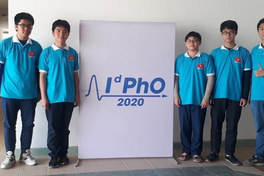 Olympic Vật lý quốc tế 2020: Việt Nam giành 5 huy chương