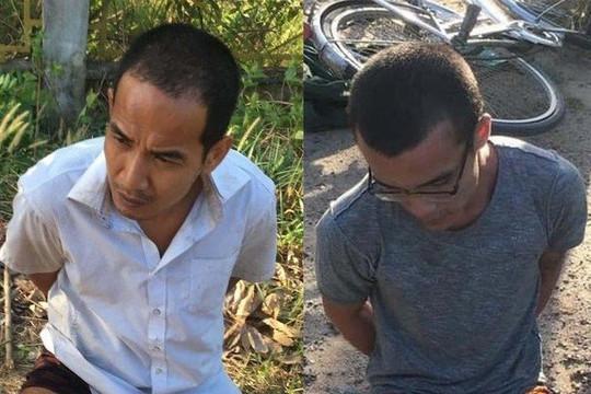 Bắt giữ hai phạm nhân trốn khỏi trại giam