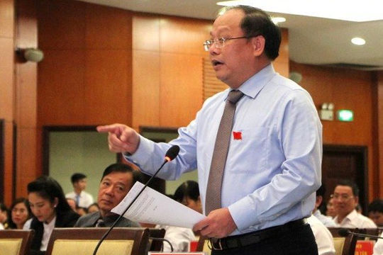Ông Tất Thành Cang bị đình chỉ tư cách đại biểu HĐND TP.HCM
