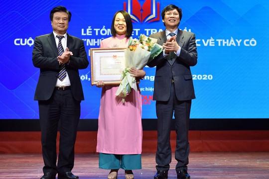 """Tác phẩm """"Cô Hiền"""" đạt giải nhất thi viết thầy cô và mái trường"""