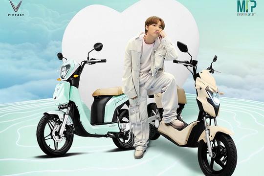 Giải mã sức hút của mẫu xe máy điện hot nhất tháng 12 VinFast kết hợp M-TP Entertainment