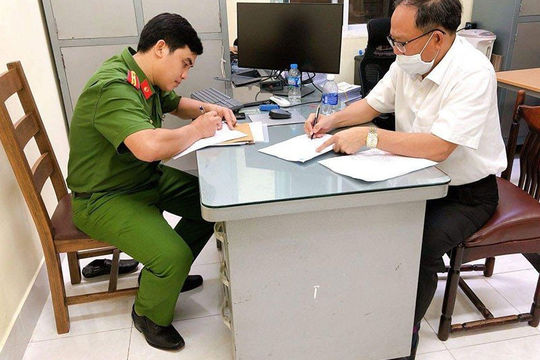 Đình chỉ công tác ông Tất Thành Cang 3 tháng để phục vụ công tác điều tra