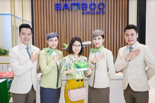 """Ghé phòng vé Bamboo Airways ngay, nhận quà nóng """"bỏng tay"""""""