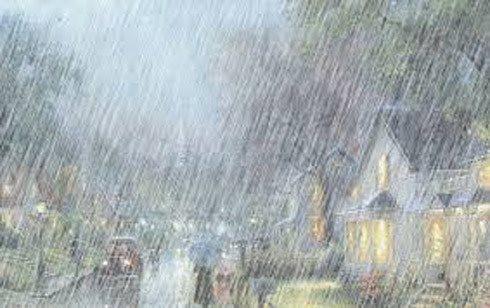 Áp thấp nhiệt đới gây mưa cho các tỉnh từ Quảng Ngãi đến Bình Thuận