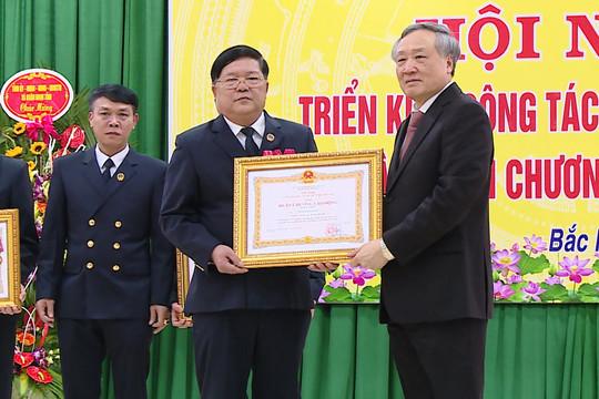 TAND tỉnh Bắc Ninh đón nhận Huân chương Lao động hạng Nhất