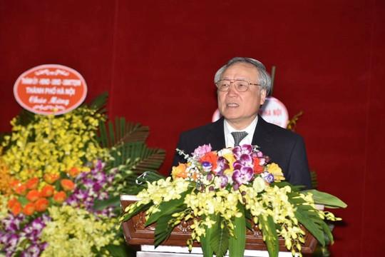 Chánh án TANDTC Nguyễn Hòa Bình dự Hội nghị triển khai công tác năm 2021 TAND hai cấp TP Hà Nội