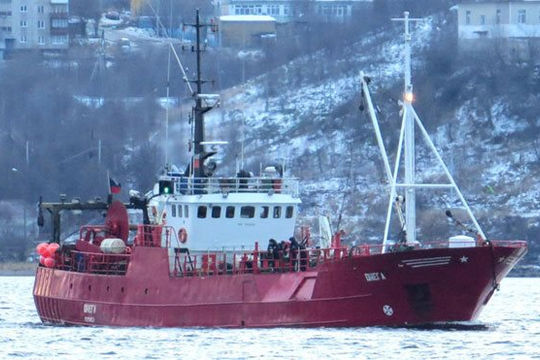 Tàu cá của Nga bị chìm ở biển Barents, 17 người mất tích trong thời tiết 0 độ