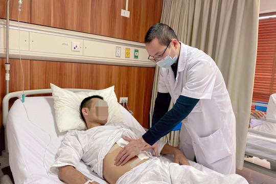 Tưởng bụng chướng, nam thanh niên bất ngờ phát hiện khối u nguy hiểm