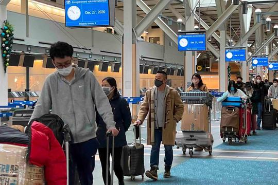 Đưa hơn 1.000 công dân Việt Nam từ Canada, Nhật Bản và Đài Loan về nước an toàn