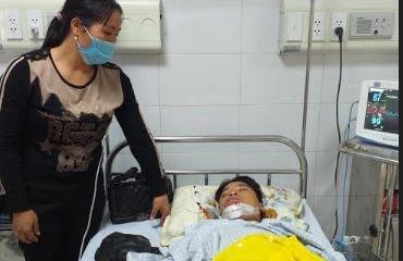 Rơi nước mắt với hoàn cảnh gia đình bé trai đang nằm viện vì tai nạn