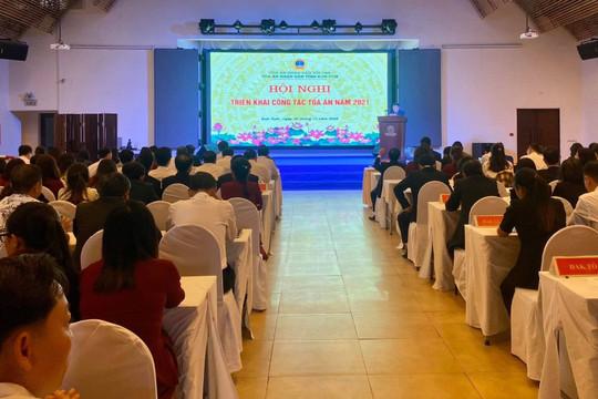 TAND tỉnh Kon Tum triển khai công tác năm 2021