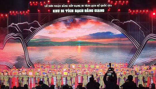 Khu di tích Bạch Đằng Giang được xếp hạng di tích lịch sử quốc gia