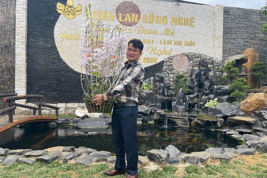 Đàm Rồng Nghệ nói về những thương vụ mua bán lan đột biến tiền tỷ