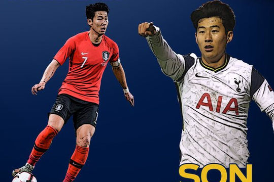 Son Heung Min giành giải Cầu thủ xuất sắc nhất châu Á