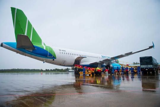 Cục Hàng không Việt Nam biểu dương nhân lực Bamboo Airways trong công tác phòng, chống thiên tai