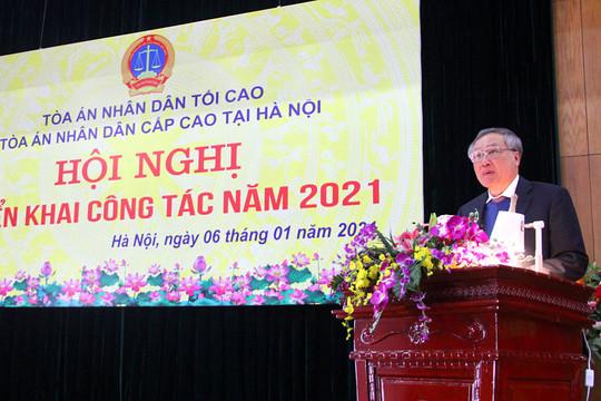 TAND cấp cao tại Hà Nội triển khai công tác năm 2021
