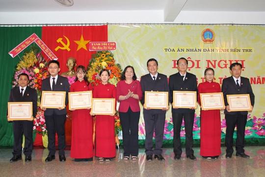TAND hai cấp tỉnh Bến Tre tổ chức hội nghị triển khai công tác năm 2021