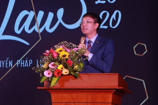 ĐH Luật Hà Nội giành giải nhất sáng tác tiểu phẩm tuyên truyền pháp luật