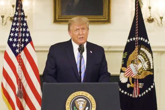 """Tổng thống Trump: """"Giờ là thời gian để xoa dịu và chữa lành"""""""
