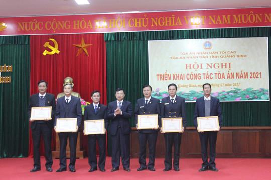 TAND tỉnh Quảng Bình triển khai công tác năm 2021