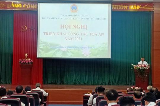 TAND cấp cao tại TP HCM tổ chức Hội nghị triển khai công tác năm 2021