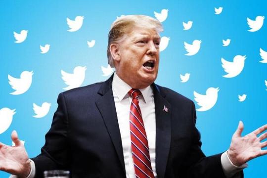 """Twitter """"cấm cửa vĩnh viễn"""" Tổng thống Trump"""