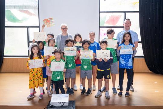 Ngôi trường đầu tiên của Việt Nam được trao huy hiệu của Tổ chức Quốc tế về Chứng khó đọc