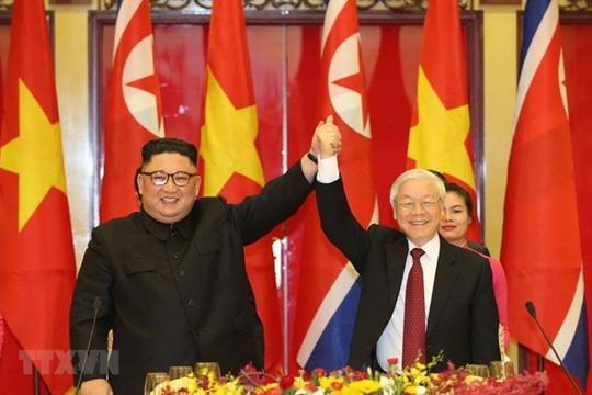 Việt Nam gửi điện mừng Tổng Bí thư Đảng Lao động Triều Tiên Kim Jong-un