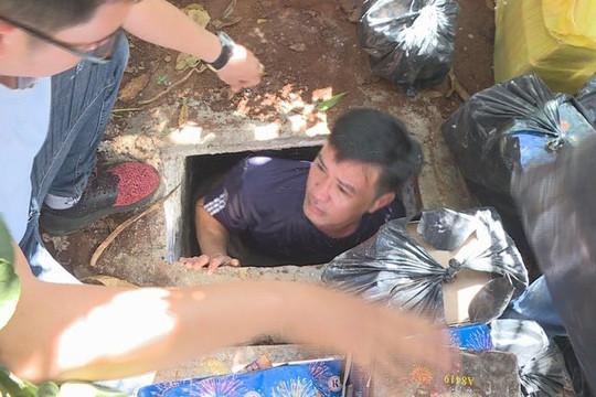 Tạm giữ hình sự đối tượng trộm cắp, mua bán ma túy có 2 hầm trú ẩn