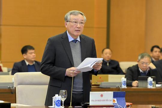 Việc tuyên án treo trong nhiệm kỳ 2016-2021 được Tòa án các cấp kiểm soát chặt chẽ