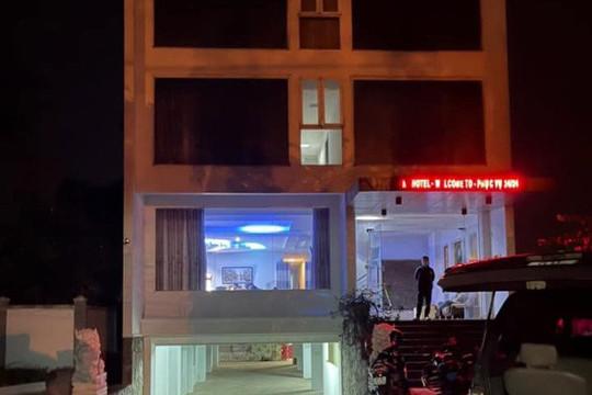 """Khách sạn mở phòng """"bay"""" cho khách sử dụng ma tuý kết hợp bán dâm"""
