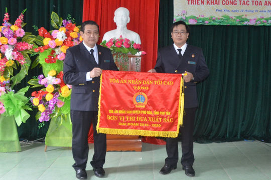 TAND hai cấp tỉnh Phú Yên triển khai công tác năm 2021