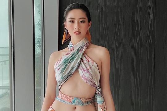 Hoa hậu Lương Thùy Linh tung bộ ảnh mặc bikini sương sương gần trăm triệu