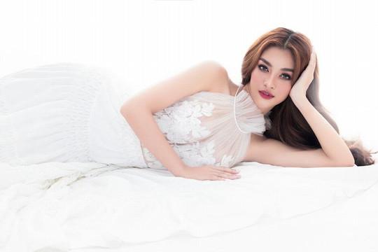 Á Hậu Kiều Loan quyến rũ trong bộ ảnh Beauty queen