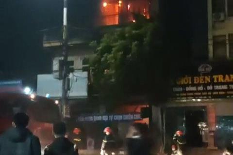 Nữ sinh lớp 9 tử vong trong đám cháy tiệm tạp hóa