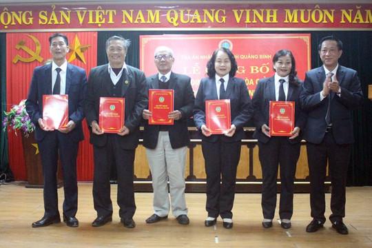 Lễ công bố và trao quyết định bổ nhiệm cho hòa giải viên