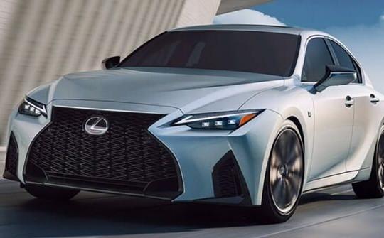 Lexus IS 2021 được ra mắt tại Việt Nam, giá từ 2,13 tỉ đồng