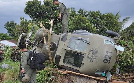 Toàn bộ 7 người thiệt mạng do sự cố máy bay trực thăng quân sự ở Philippines