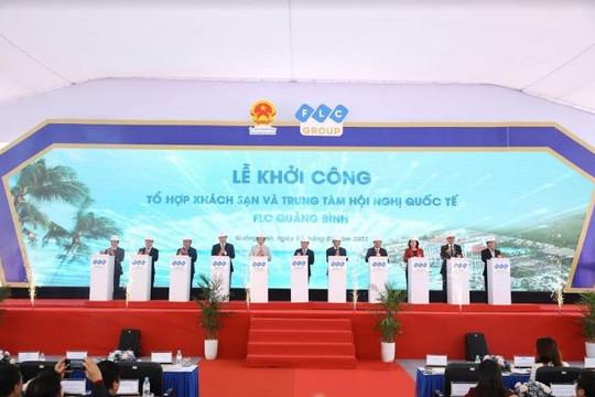 FLC Quảng Bình khởi công giai đoạn 2 với Tổ hợp khách sạn và Trung tâm Hội nghị Quốc tế