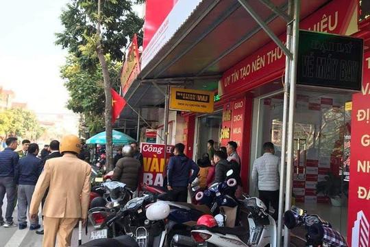 Hải Phòng: Nam thanh niên táo tợn dùng dao khống chế, cướp tiệm vàng giữa ban ngày