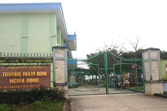 """Quảng Ngãi: Một trường Mầm non bị phụ huynh """"tố"""" """"cắt xén"""" tiền ăn của trẻ"""