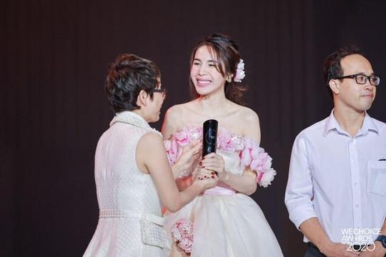 Thuỷ Tiên chiến thắng hạng mục Nghệ sĩ có hoạt động nổi bật tại WeChoice 2020